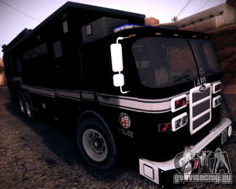 Pierce Contendor LAPD SWAT для GTA San Andreas