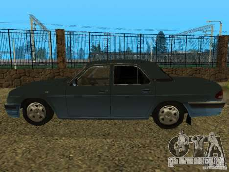 ГАЗ 31105 Волга для GTA San Andreas вид справа