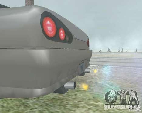 Отключение размытия при использовании нитро для GTA San Andreas