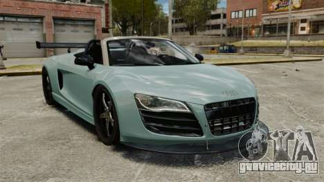 Audi R8 Spider Body Kit для GTA 4