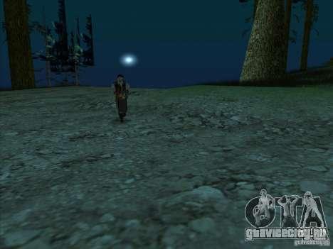 Кожаное лицо для GTA San Andreas третий скриншот