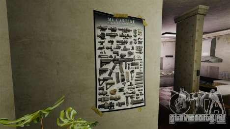 Новые плакаты во второй квартире для GTA 4 третий скриншот