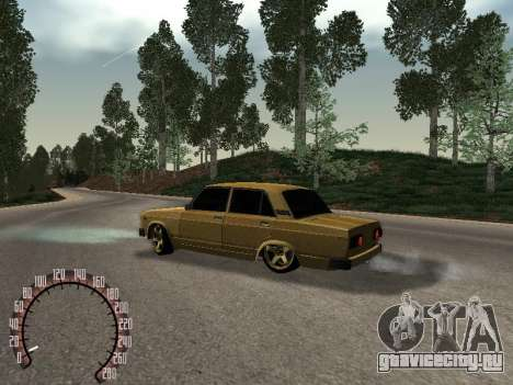 ВАЗ 2105 Gold для GTA San Andreas вид слева