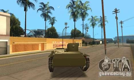 Т-38 для GTA San Andreas вид справа