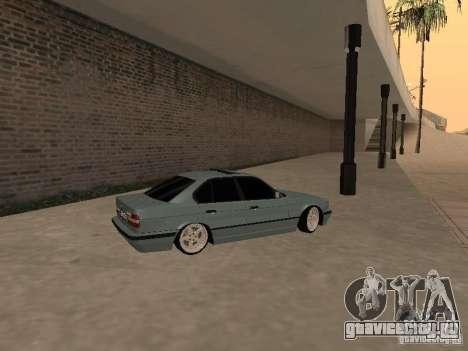 BMW E34 540i V8 для GTA San Andreas вид слева