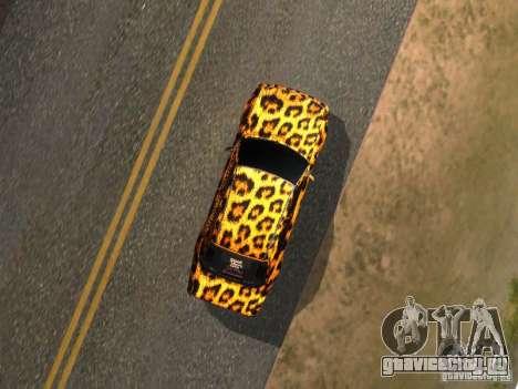 Mercedes-Benz E500 Leopard для GTA San Andreas вид справа