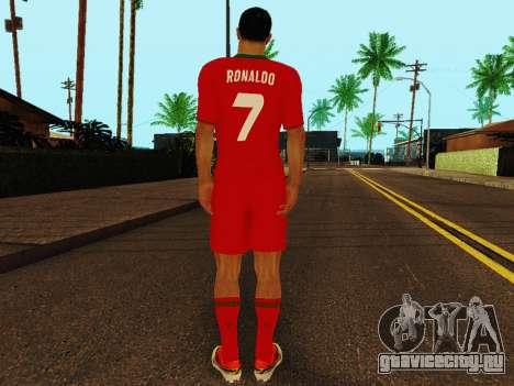 Криштиану Роналду v4 для GTA San Andreas четвёртый скриншот