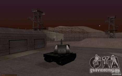 Bat. Chat. 155 SPG для GTA San Andreas вид справа