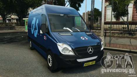 Mercedes-Benz Sprinter G4S Estonia Cash Transporter для GTA 4