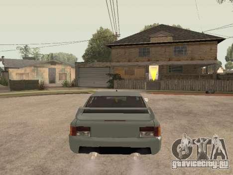 Sultan Impreza v1.0 для GTA San Andreas вид сзади
