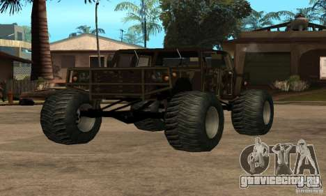 Monster Patriot для GTA San Andreas