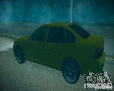 Opel Vectra B для GTA San Andreas вид сбоку