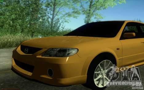Mazda Speed Familia 2001 V1.0 для GTA San Andreas вид справа