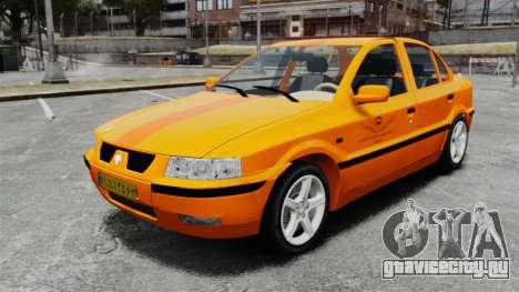 Iran Khodro Samand LX Taxi для GTA 4