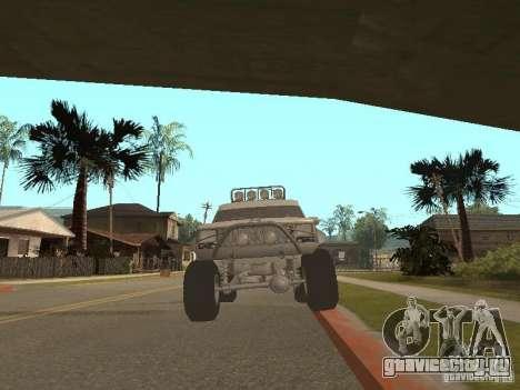 Jeep Cherokee 1984 v.2 для GTA San Andreas вид сзади слева