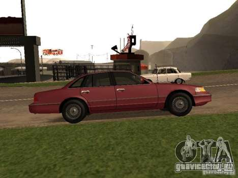 Ford Crown Victoria LX 1994 для GTA San Andreas вид слева