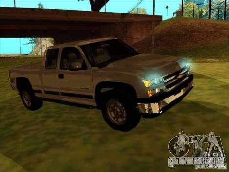 Chevrolet Silverado 2006 4x4 для GTA San Andreas