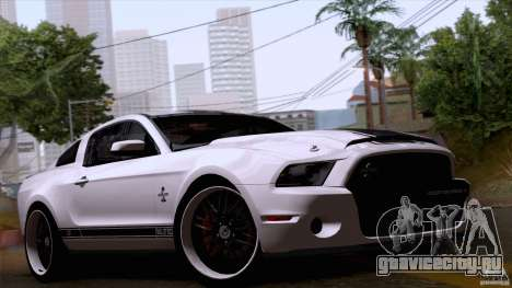 Ford Shelby GT500 Super Snake для GTA San Andreas