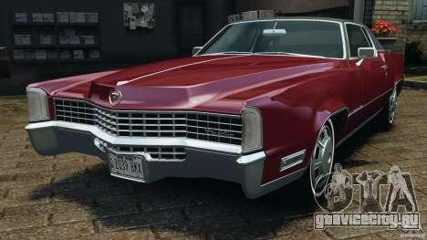 Cadillac Eldorado 1968 для GTA 4