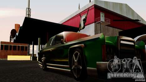 ENBSeries HQ для GTA San Andreas третий скриншот