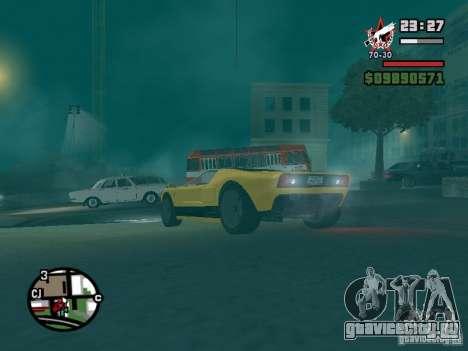 Bullet из GTA TBoGT IVF для GTA San Andreas вид сбоку