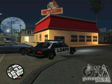 Новые текстуры забегаловок для GTA San Andreas восьмой скриншот