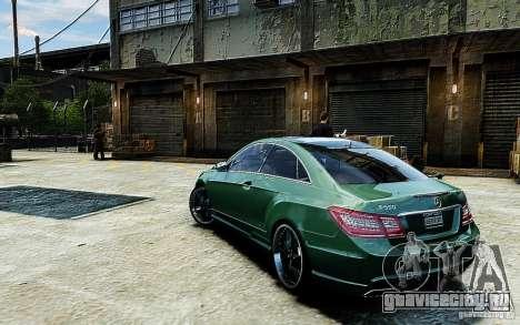 Mercedes Benz E500 Coupe для GTA 4 вид слева