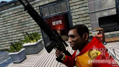SIG SG 550 Sniper для GTA 4 третий скриншот