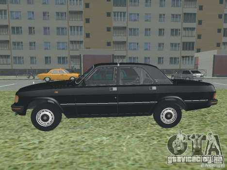 ГАЗ Волга 31029 для GTA San Andreas вид слева