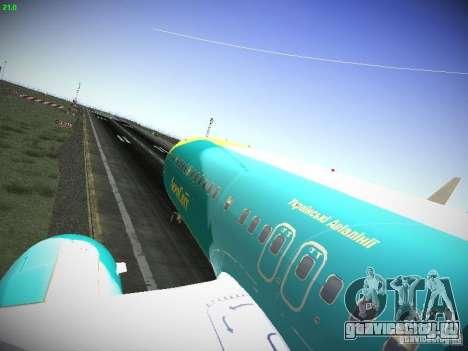 Boeing 737-84R AeroSvit Ukrainian Airlines для GTA San Andreas вид сзади