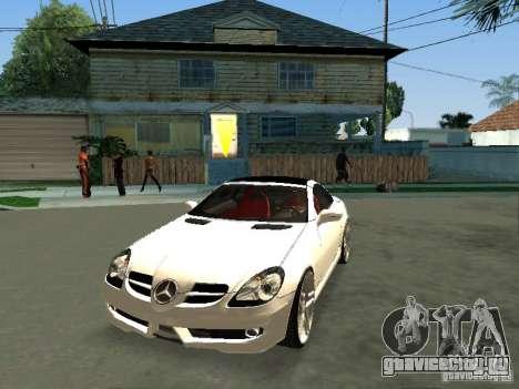 Mercedes Benz SLK 300 для GTA San Andreas