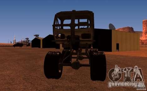Heist Truck для GTA San Andreas вид сзади слева