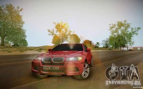 BMW X6 v1.1 для GTA San Andreas вид слева