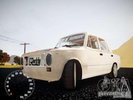 ВАЗ-2101 Drift Edition для GTA 4 вид изнутри
