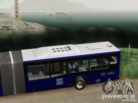 Прицеп для Design X3 для GTA San Andreas вид изнутри