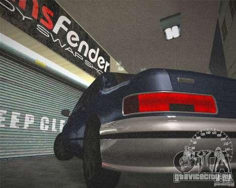 ECHO HD from GTA 3 для GTA San Andreas вид изнутри