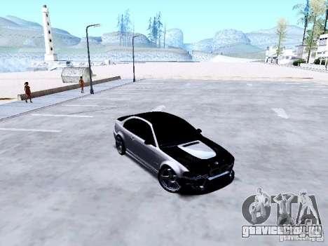 BMW 318i E46 Drift Style для GTA San Andreas вид изнутри