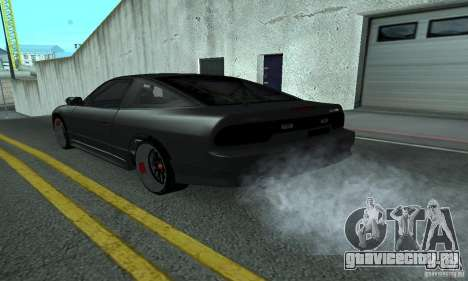 Nissan 200SX Turbo для GTA San Andreas вид сзади