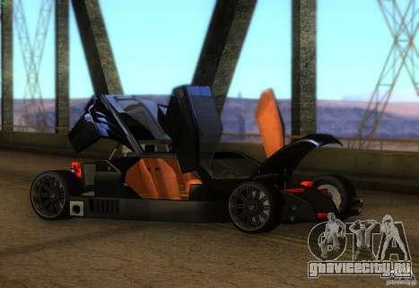 Стражник для GTA San Andreas вид слева