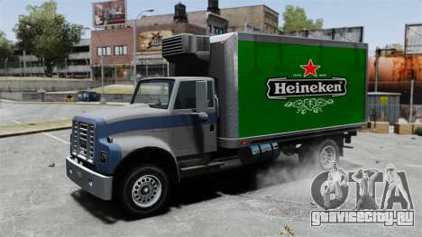 Новая реклама для грузовика Yankee для GTA 4 вид сзади