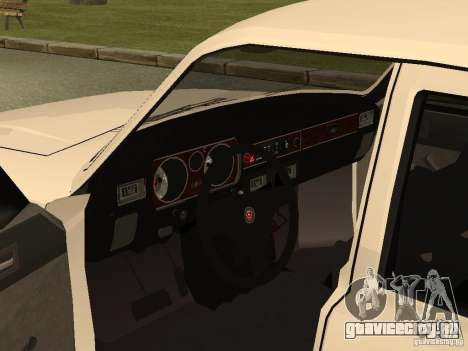 ГАЗ 31013 Волга для GTA San Andreas вид сзади