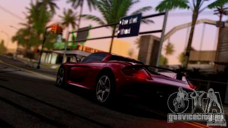 SA Beautiful Realistic Graphics 1.6 для GTA San Andreas третий скриншот