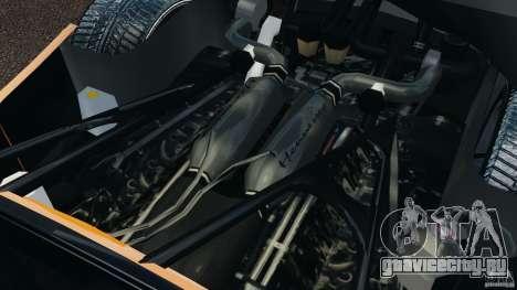 Hennessey Venom GT Spyder для GTA 4 вид сзади