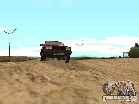 АЗЛК 2141 Москвич для GTA San Andreas вид слева