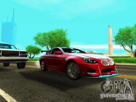 BMW M6 2013 для GTA San Andreas вид слева