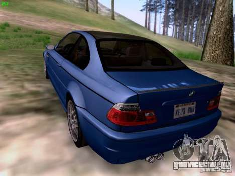 BMW M3 Tunable для GTA San Andreas вид слева
