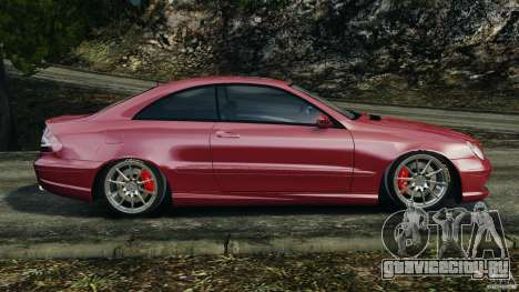 Mercedes-Benz CLK 63 AMG для GTA 4 вид слева