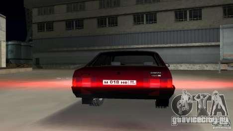 ВАЗ 21099 для GTA Vice City вид справа