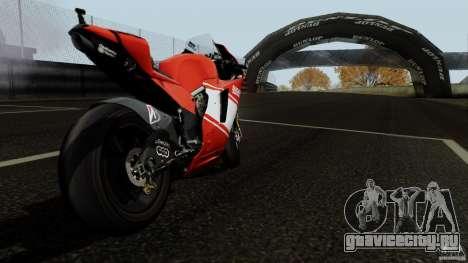 Ducati Desmosedici RR для GTA San Andreas вид справа