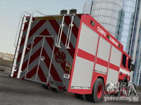 Scania 94D-260 Corpo Bombeiros SP для GTA San Andreas вид справа